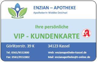 VIP-Kundenkarte Enzian-Apotheke