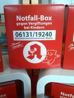 Notfallbox Enzian-Apotheke Kassel