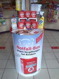 Stand Notfallboxen